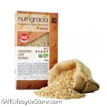 NUTRIGRACIA: Organic Oat Kernel 500gm