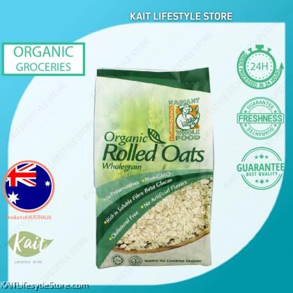 RADIANT Organic Rolled Oats Wholegrain (500g)