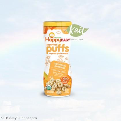 HAPPYBABY Organic Superfood Puffs
