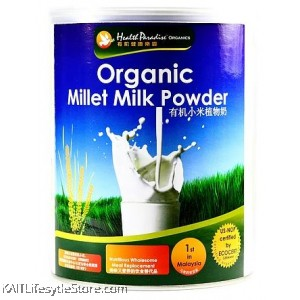 HEALTH PARADISE Organic Millet Milk Powder (Can) 700g