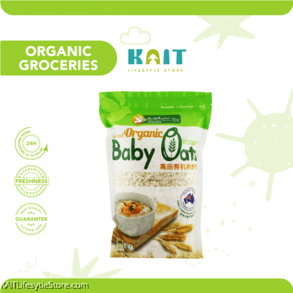 HEALTH PARADISE Organic Instant Baby Oats (500gm)