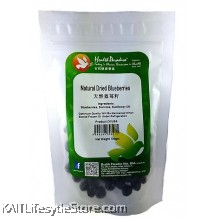 HEALTH PARADISE Natural Dried Blueberries (100gm)