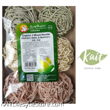 HEALTH PARADISE Organic 3 Mixed Noodles (Spinach, Millet, Beetroot) 250gm