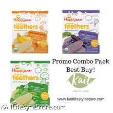 HAPPYBABY: Teething Wafer Trio Combo