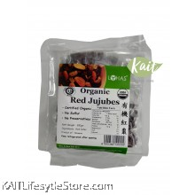 LOHAS Organic Red Jujubes (300gm)