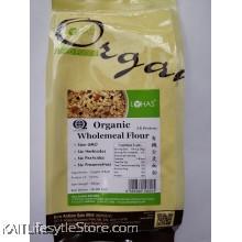 LOHAS Organic Hi-Protein Wholemeal Wheat Flour (500gm)