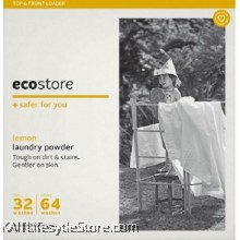 ECOSTORE Laundry Powder Original Lemon (500gm)