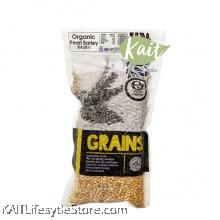 EARTH LIVING Organic Pearl Barley (500gm)