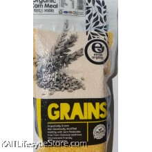 EARTH LIVING Organic Corn Meal (500gm)