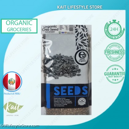 EARTH LIVING Organic Chia Seed (200gm)