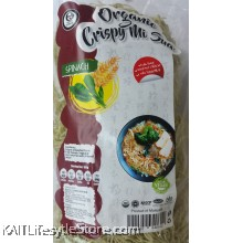 EARTH LIVING Organic Crispy Mi Sua - Spinach (350gm)