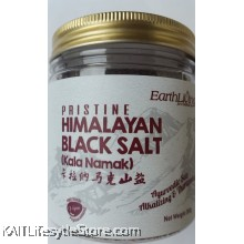 EARTH LIVING Himalayan Black Salt (360gm)